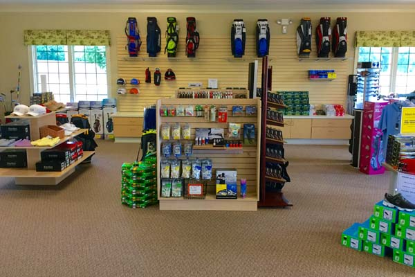 Our pro shop carries all the golf gear you need for your next round