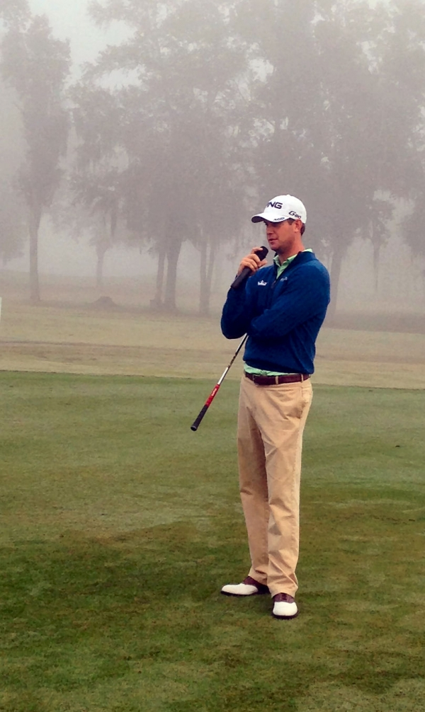 PGA Tour Pro Harris English answers some questions about golf and life on tour